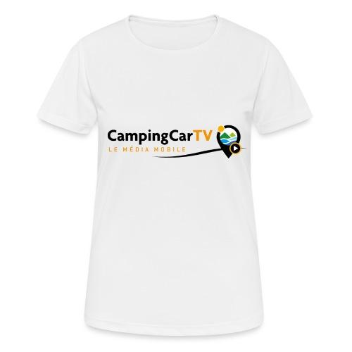 LOGO CCTV - T-shirt respirant Femme