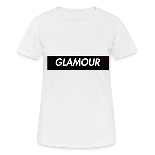 Glamour - naisten tekninen t-paita