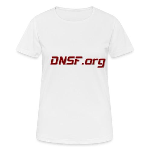 DNSF hotpäntsit - naisten tekninen t-paita