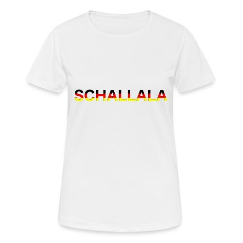 Schallala - Frauen T-Shirt atmungsaktiv
