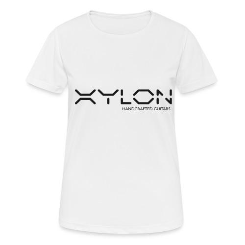 Xylon Handcrafted Guitars (plain logo in black) - Women's Breathable T-Shirt