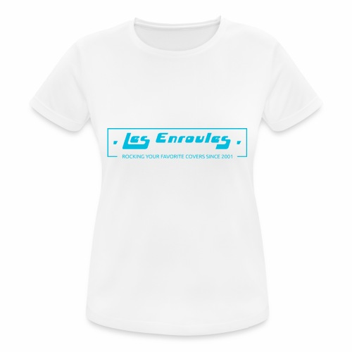 Rocking since 2001 - Blue - T-shirt respirant Femme