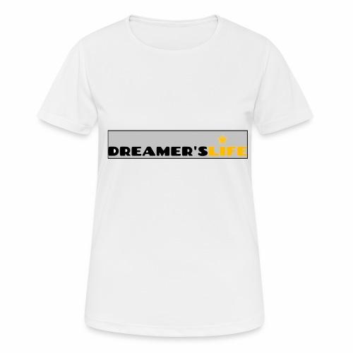 113372554 135123437 Logo DREAMER SLIFE GRIS - T-shirt respirant Femme