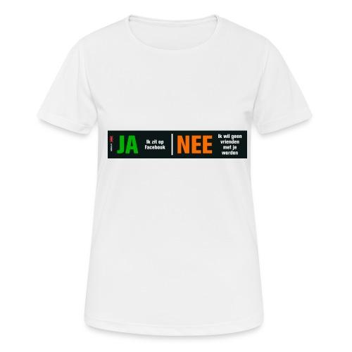 facebookvrienden - Vrouwen T-shirt ademend actief
