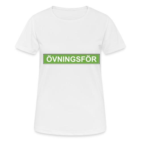 ÖVNINGSFÖR - Andningsaktiv T-shirt dam