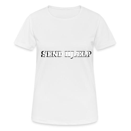 SEND HJÆLP T-shirt - Dame T-shirt svedtransporterende