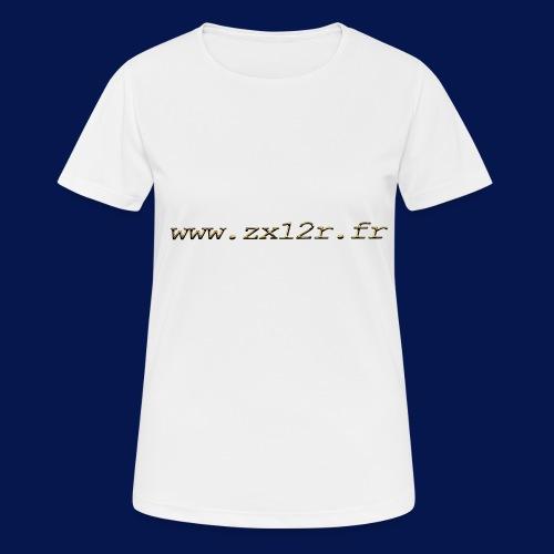 www zx12r fr OR - T-shirt respirant Femme