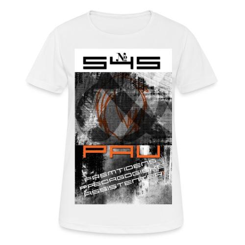 Logo 1 - Dame T-shirt svedtransporterende