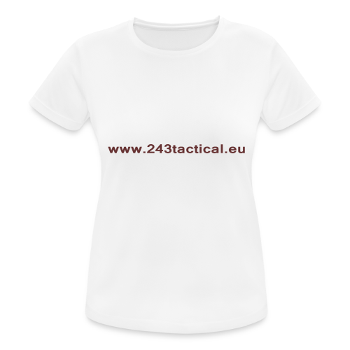 .243 Tactical Website - vrouwen T-shirt ademend