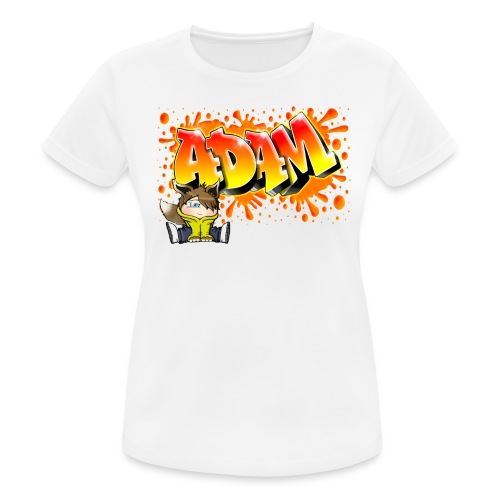 Graffiti Adam Splash - T-shirt respirant Femme