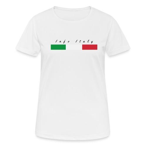 Info Italy Design - Maglietta da donna traspirante