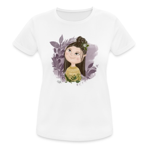 Kräutermädchen - Frauen T-Shirt atmungsaktiv