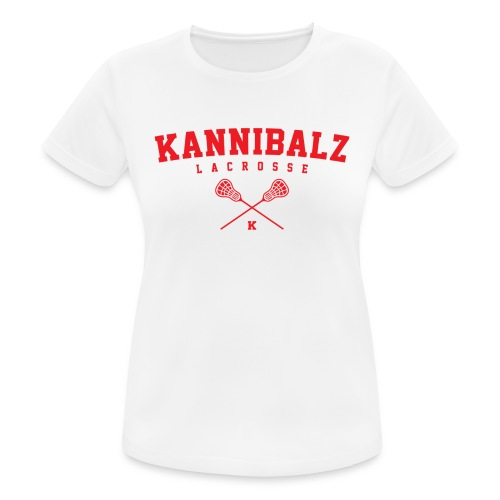 Kannibalz Lacrosse 1 - vrouwen T-shirt ademend