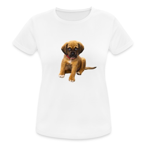 Süsses Haustier Welpe - Frauen T-Shirt atmungsaktiv