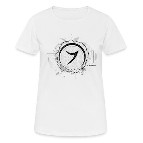 Zenon TECH (black) - Women's Breathable T-Shirt