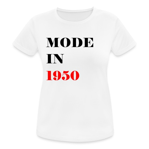 MODE IN 150 - Women's Breathable T-Shirt