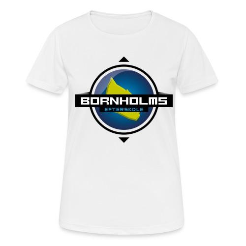 BORNHOLMS_EFTERSKOLE - Dame T-shirt svedtransporterende