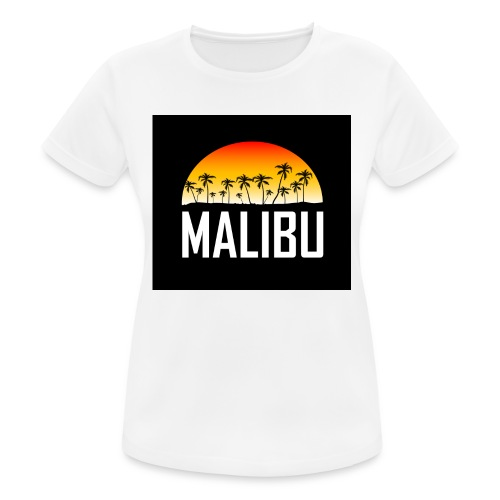 Malibu Nights - Women's Breathable T-Shirt