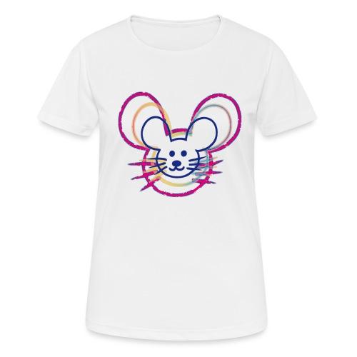kleines Mausgesicht/Mäuse - Frauen T-Shirt atmungsaktiv