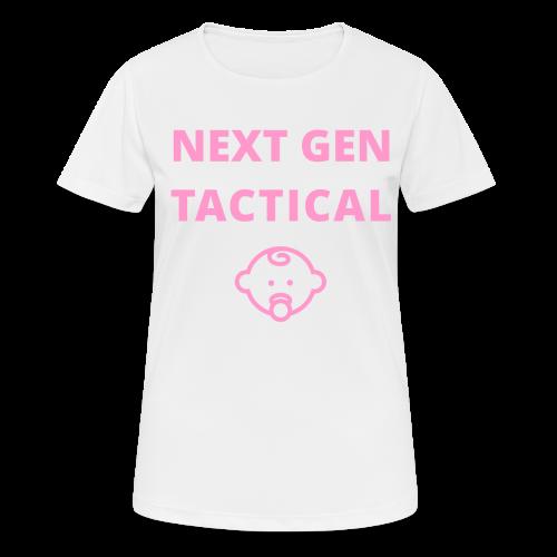 Tactical Baby Girl - vrouwen T-shirt ademend