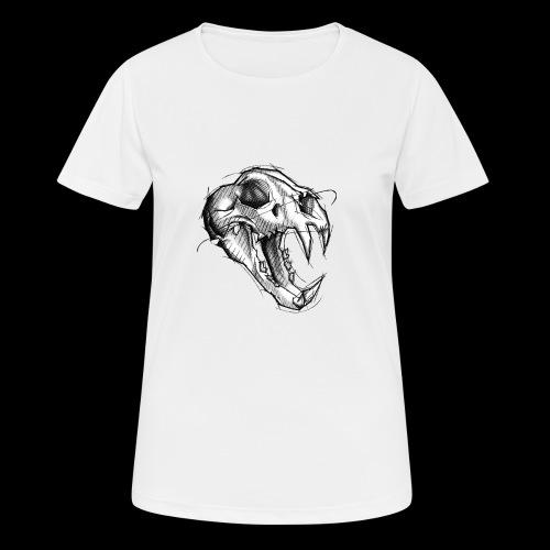 Teschio Tigre - Maglietta da donna traspirante