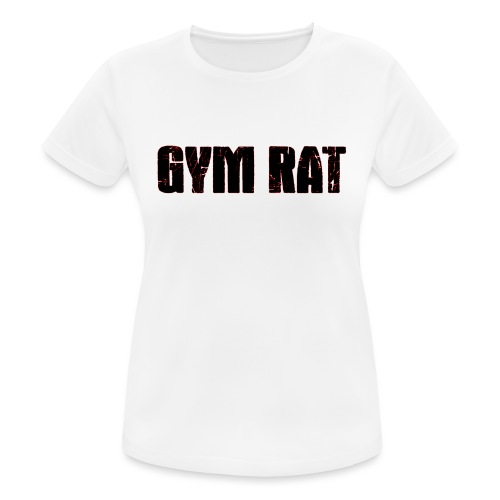 Gymrat - Andningsaktiv T-shirt dam