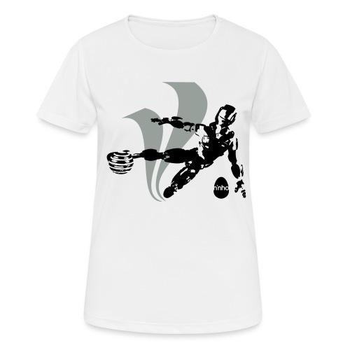 Football Robot - Maglietta da donna traspirante