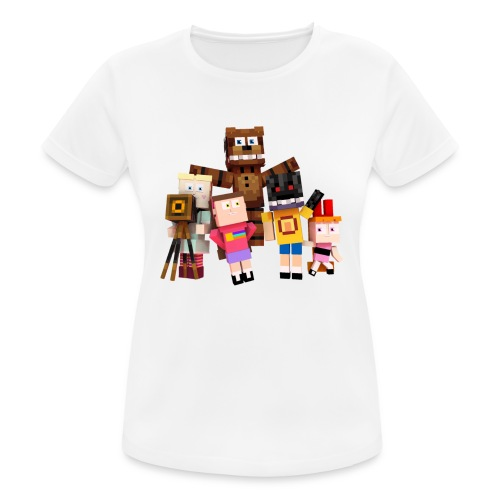 Withered Bonnie Productions - Meet The Gang - Women's Breathable T-Shirt