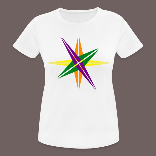 GBIGBO zjebeezjeboo - Love - Couleur d'étoile brillante - T-shirt respirant Femme