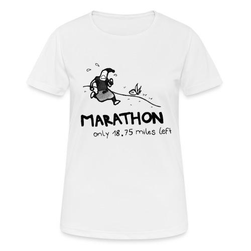marathon-png - Koszulka damska oddychająca