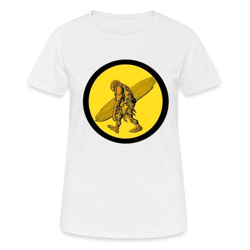 TROGLO SURF - Maglietta da donna traspirante