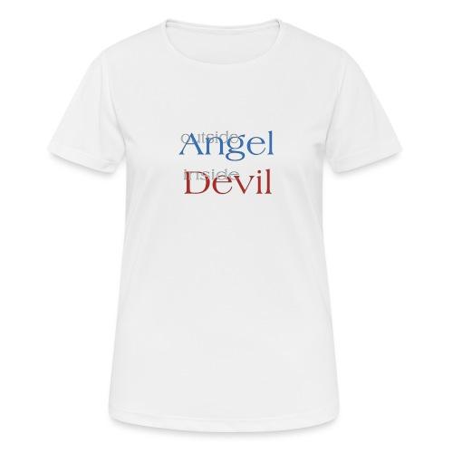 Angelo o Diavolo? - Maglietta da donna traspirante