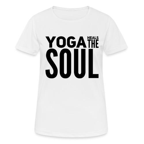 yogalover - vrouwen T-shirt ademend