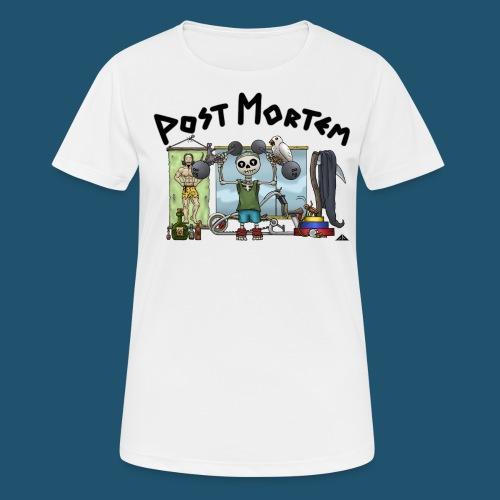 Post Mortem - Getting Ripped - Andningsaktiv T-shirt dam