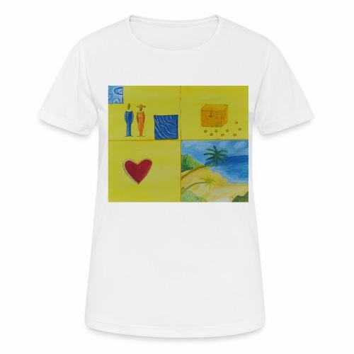 Viererwunsch - Frauen T-Shirt atmungsaktiv