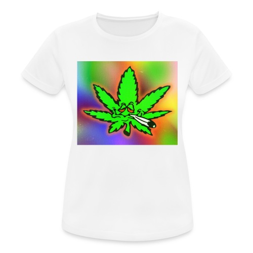best weed - naisten tekninen t-paita
