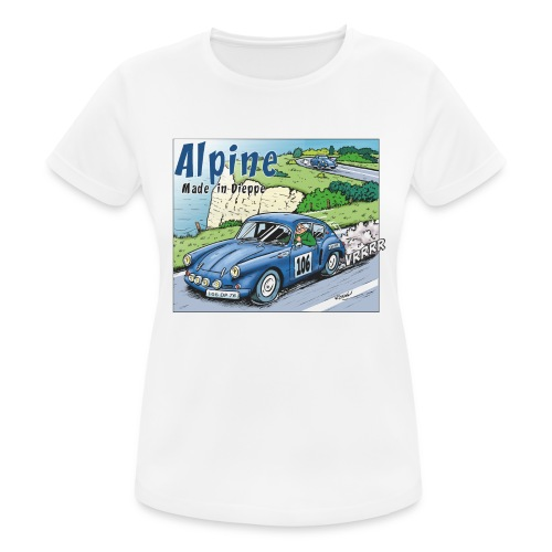 Polete en Alpine 106 - T-shirt respirant Femme