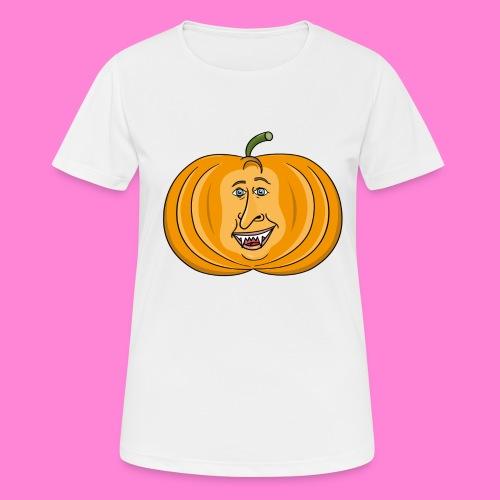 Rick pumpkin - Vrouwen T-shirt ademend actief