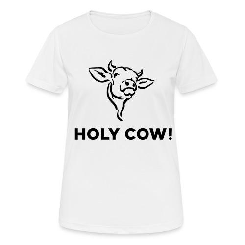 T-Shirt Holy Cow - Frauen T-Shirt atmungsaktiv