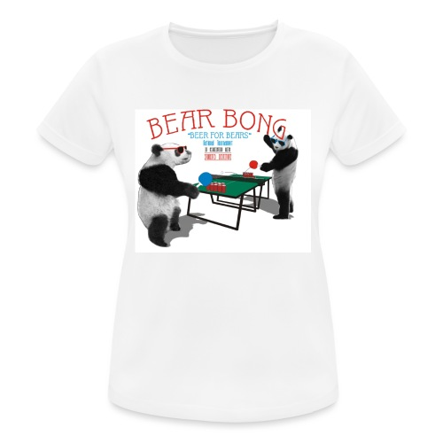 Bear Bong - naisten tekninen t-paita