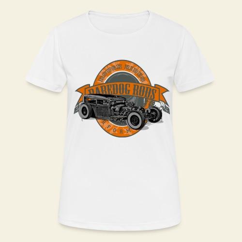 Raredog Rods Logo - Dame T-shirt svedtransporterende