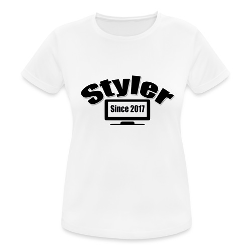 Styler Design T-Shirt Vrouwen - Vrouwen T-shirt ademend actief