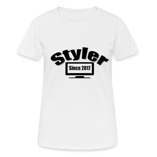 Styler Design T-Shirt Vrouwen - vrouwen T-shirt ademend