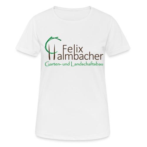 Halmbacher Logo - Frauen T-Shirt atmungsaktiv