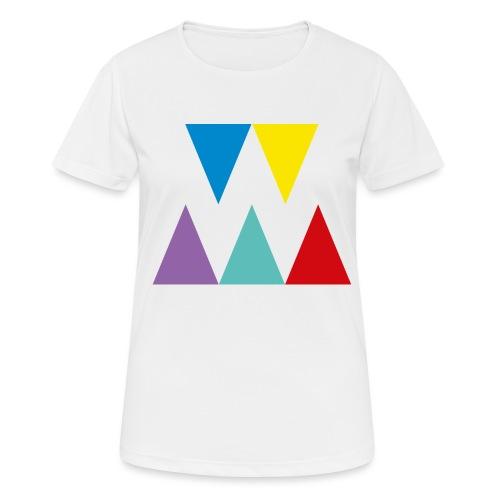 Logo We are les filles - T-shirt respirant Femme