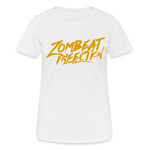 String LogoOrange - T-shirt respirant Femme