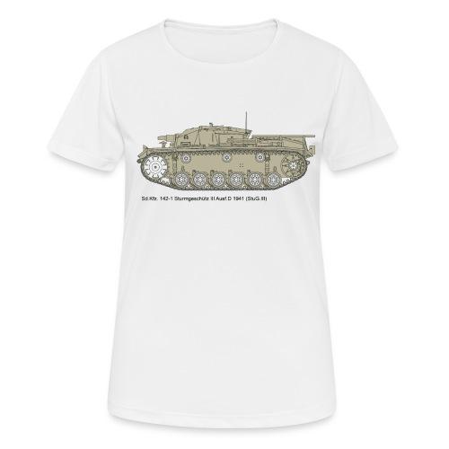 Stug III Ausf D. - Frauen T-Shirt atmungsaktiv