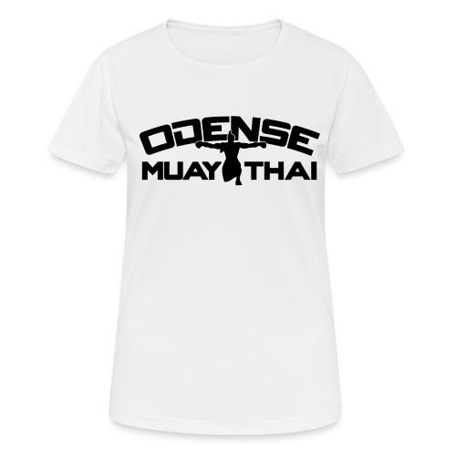 OMT LOGO2012 SORT 08 08 2 2 - Dame T-shirt svedtransporterende
