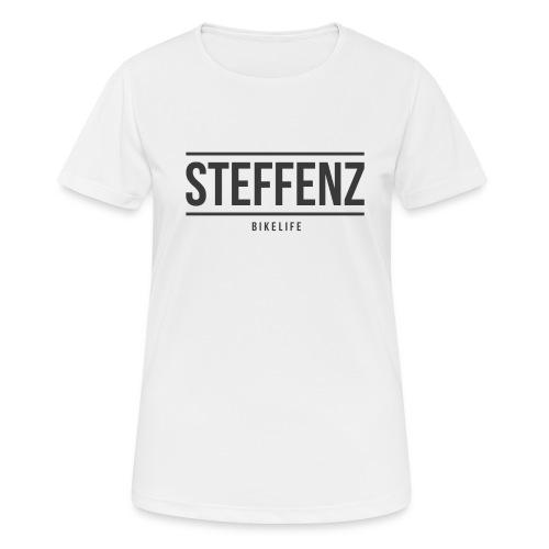Black on Black - Frauen T-Shirt atmungsaktiv