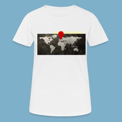 homeland my base - Frauen T-Shirt atmungsaktiv